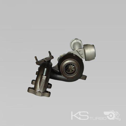 Turbocompresor Rumpf grupo Volkswagen Touran 1.9 TDI 1896 ccm 77 kw 038253014g