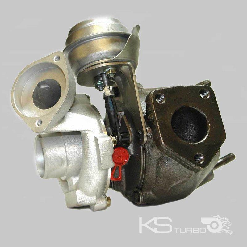 7787627g turbolader garrett bmw e46 320d mit montagesatz